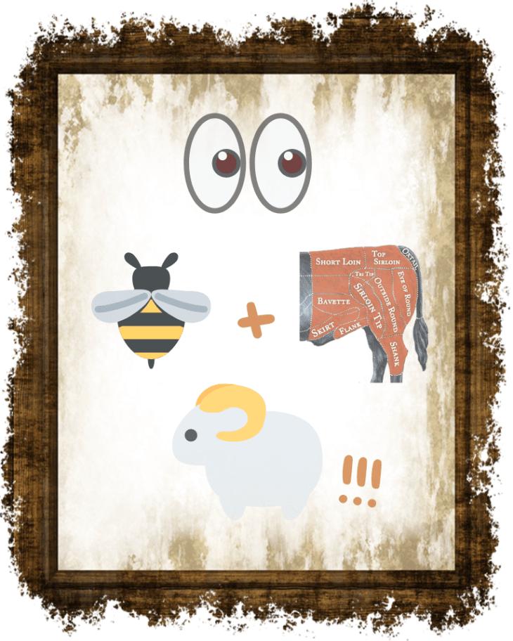 Look Bee+Hind Ewe!