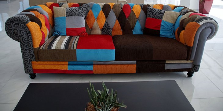 The Patchwork Quilt Sofa