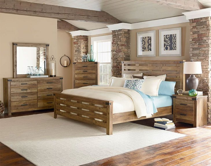 Stone & Beam Country Farmhouse Bedroom