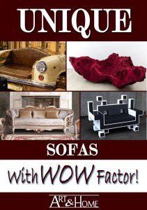 Unique Sofas with WOW Factor!