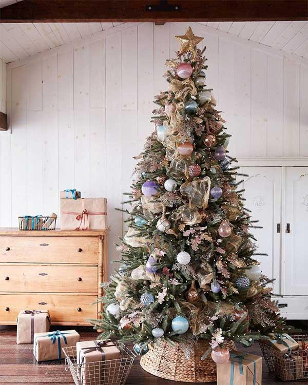 Beautiful Christmas Trees Coastal Elegance Christmas Tree