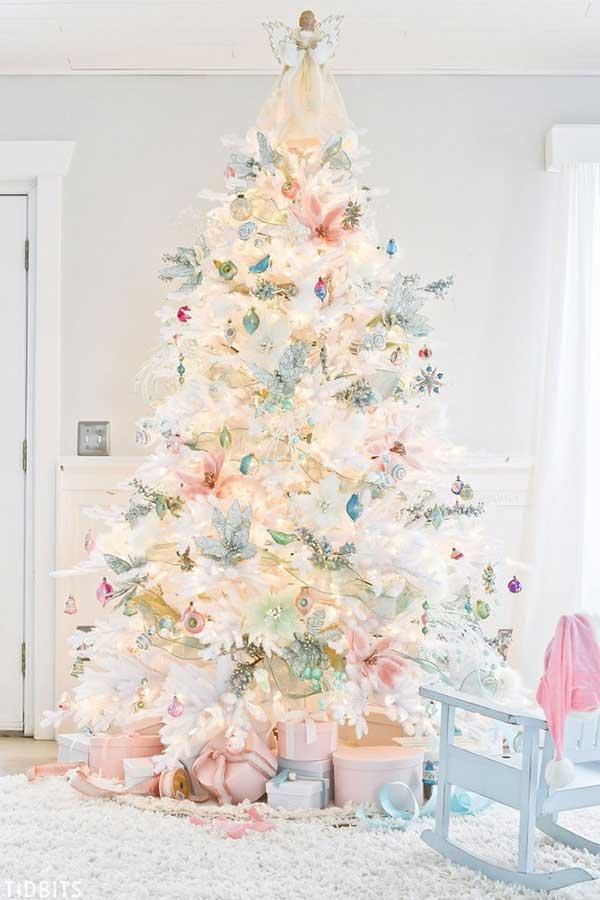 Beautiful Pastel Christmas Tree