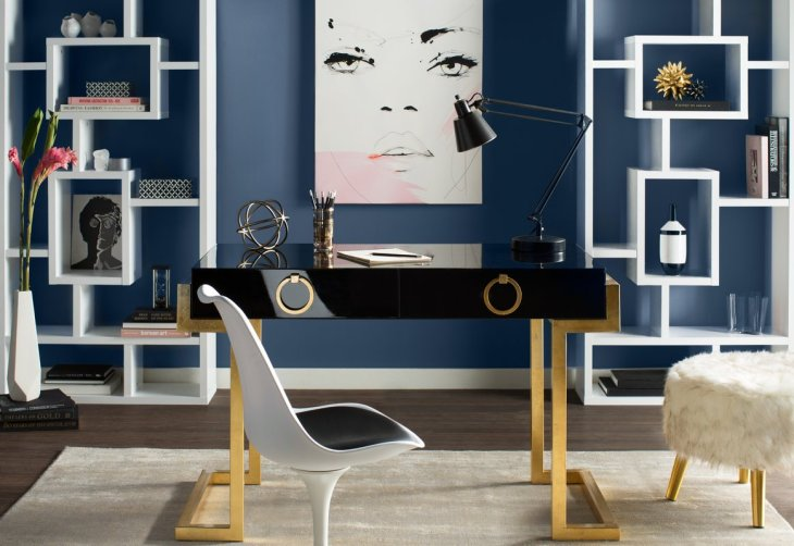 Blue-Home-Office-Design