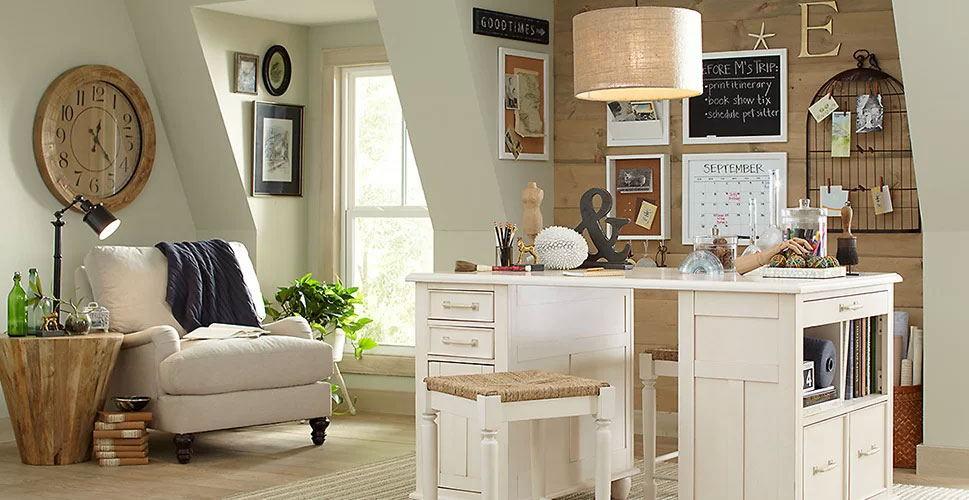 Country Cottage Office Design