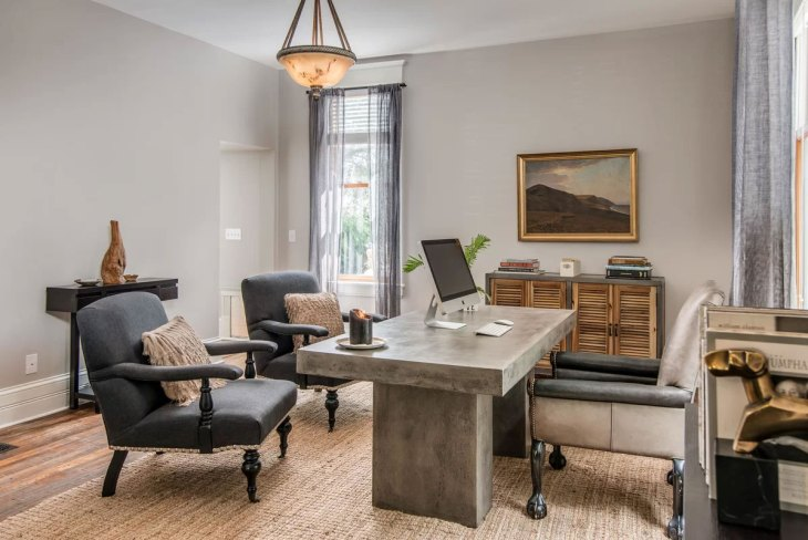 Shop the Look Eclectic Office Design