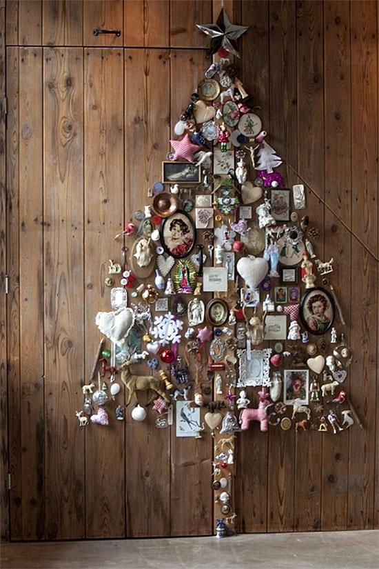 Scrapbook Christmas Tree