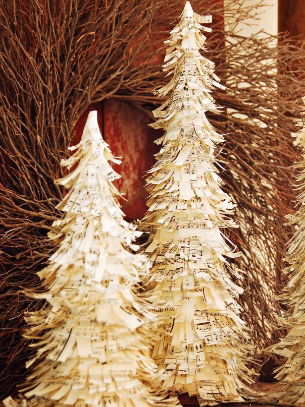 Sheet Music Christmas Tree
