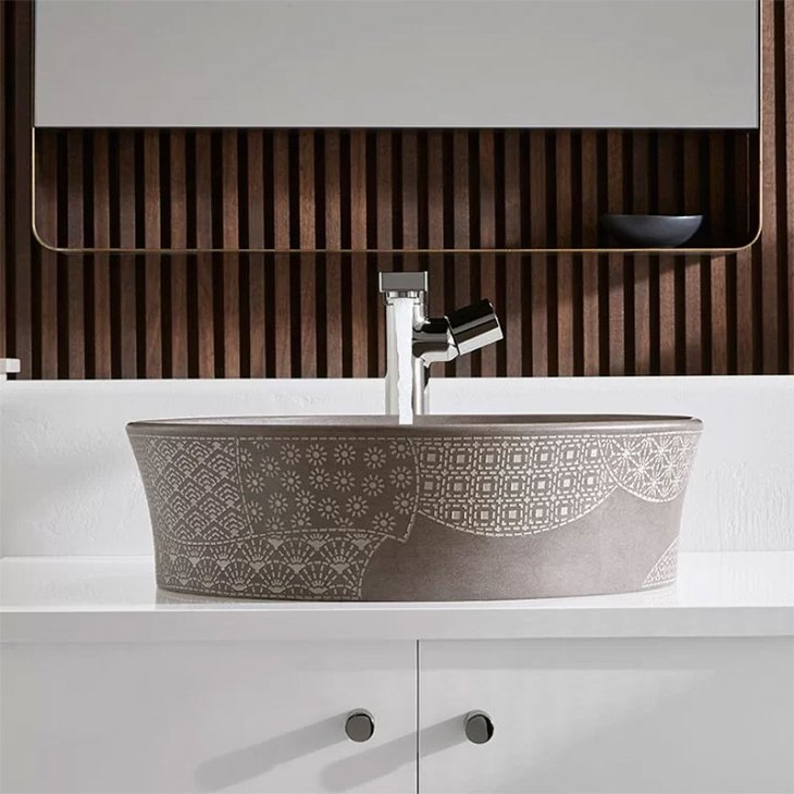 Kohler Kensho Etched Natural Stone Vessel Sink