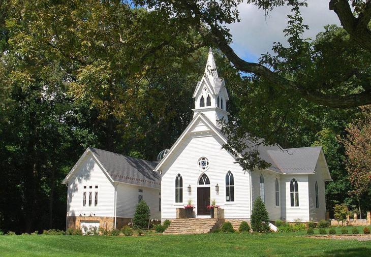 Providence Methodist Episcopal Converted Church in Glenelg, Maryland