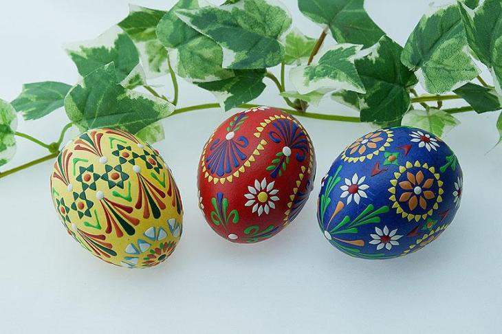 Ornamental Easter Eggs