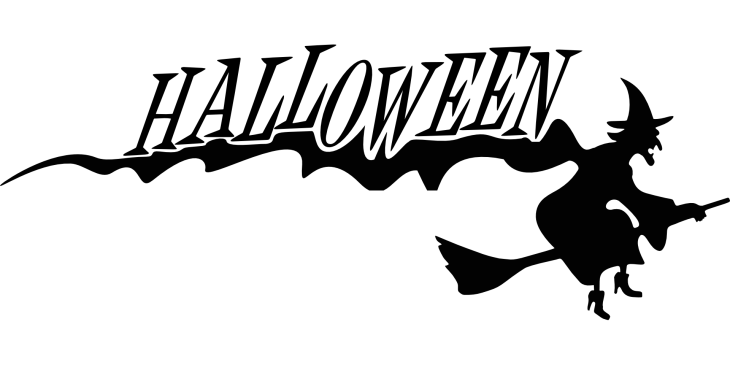 Flying Witch Halloween Clip Art