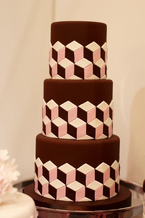Geometry Lover's Cake