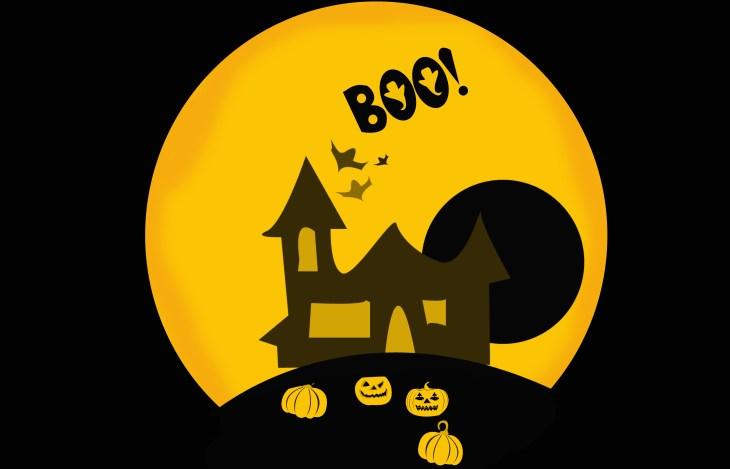 Halloween Boo Background Free Printable