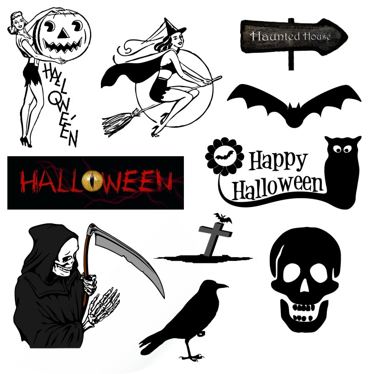 Halloween Image Collection Clipart