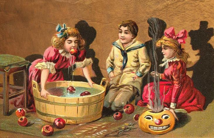 Halloween Vintage Kids Printable