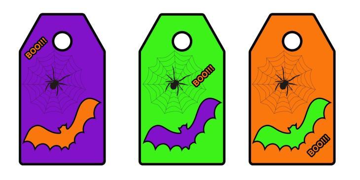 Printable Halloween Boo Bag Tags