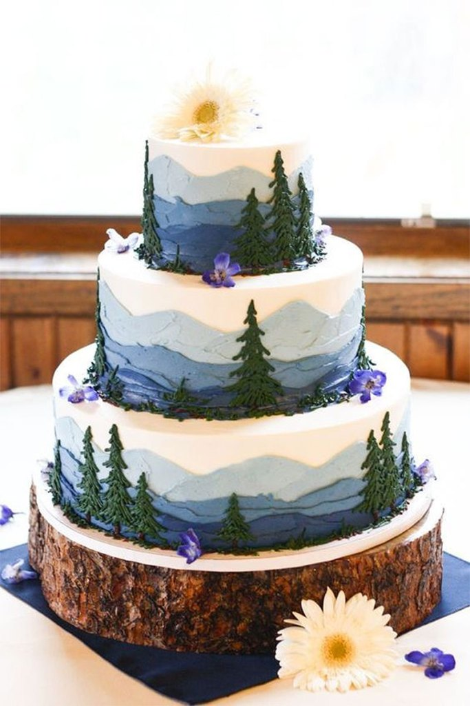 Wonderful Wilderness Cake