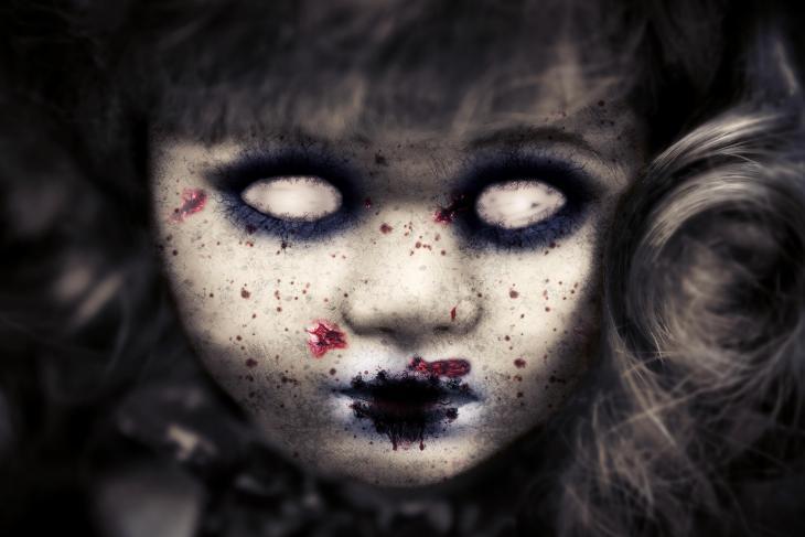 Zombie Girl | Printable Halloween Art