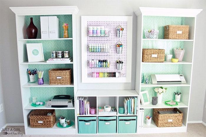 DIY Craft Supplies Organizer