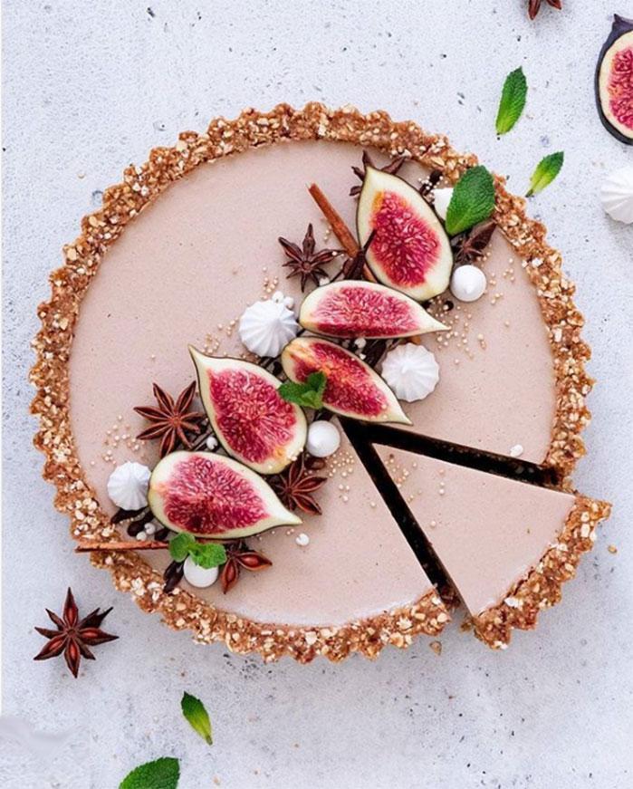 Masala Chai Latte Tart
