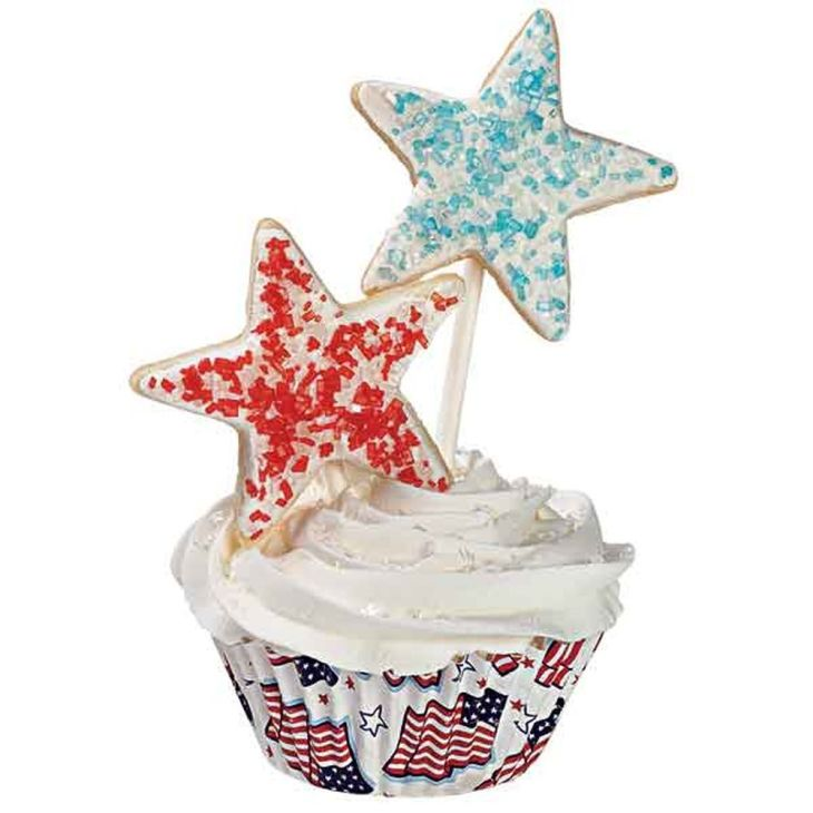 Old Glory Cupcakes