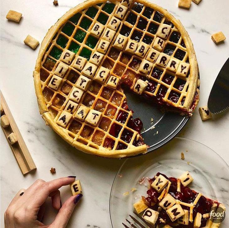 Scrabble Pie