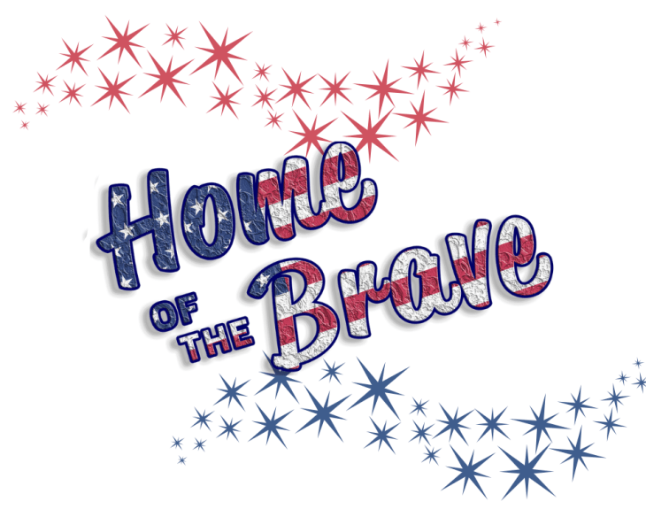 USA Home of the Brave Printable