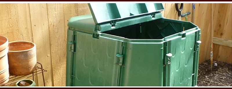 Ugly Green Outdoor Compost Bin