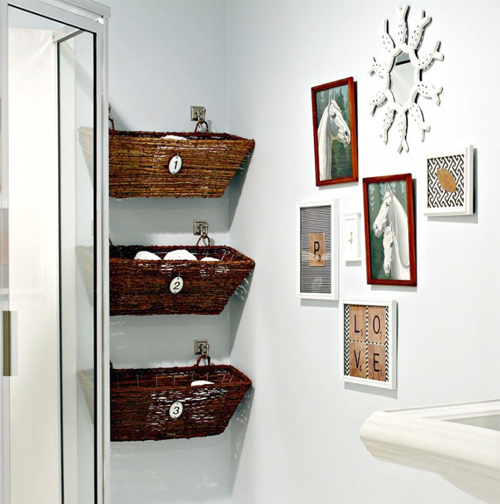 Window Box Bathroom Storage