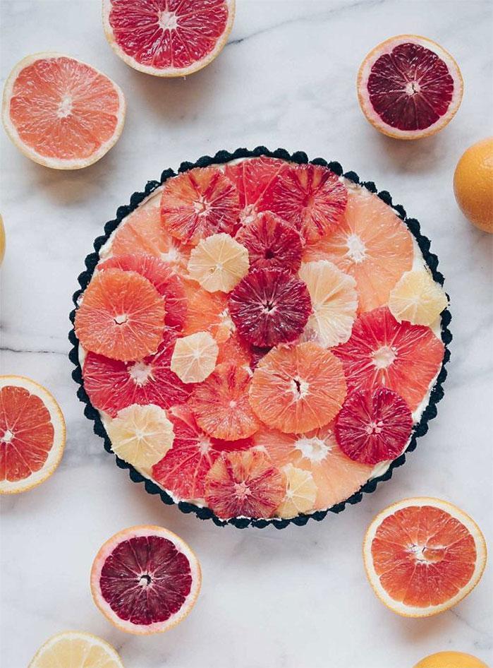 Winter Citrus Tart