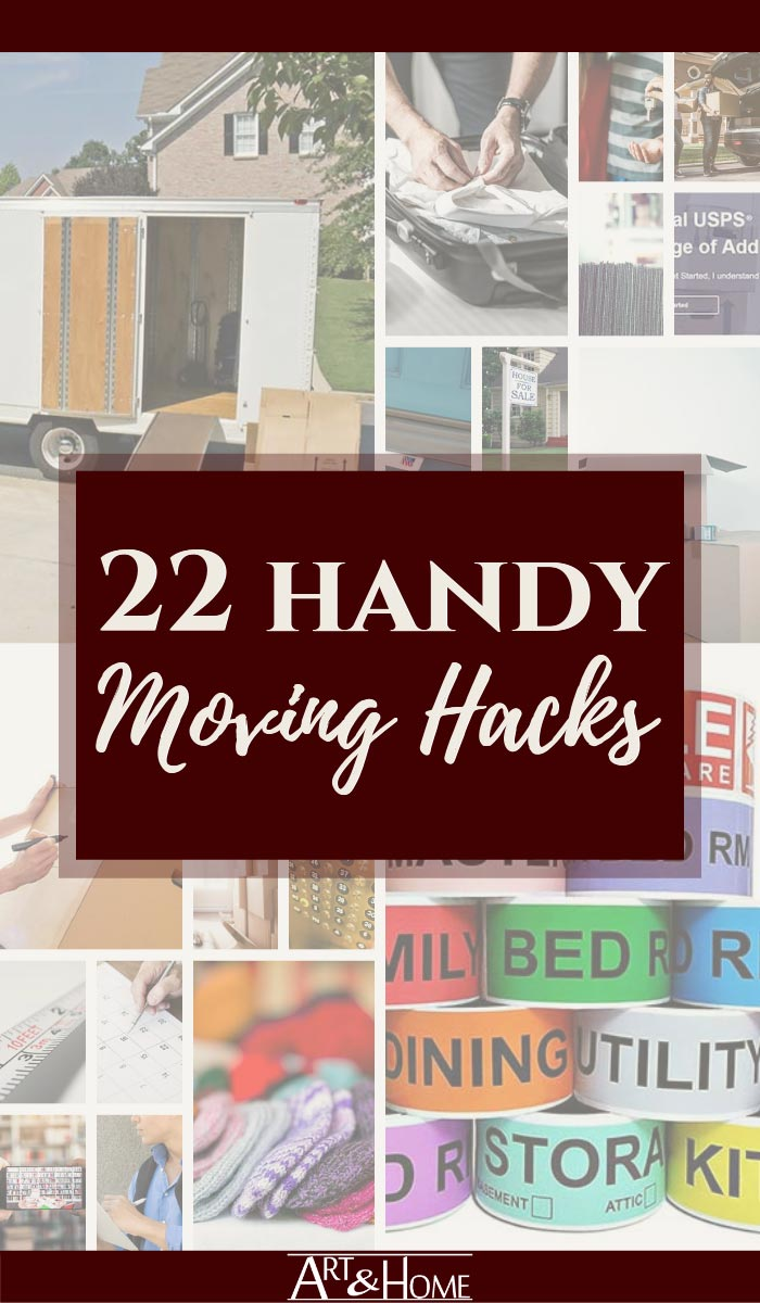 22 Handy Moving Tips & Packing Hacks