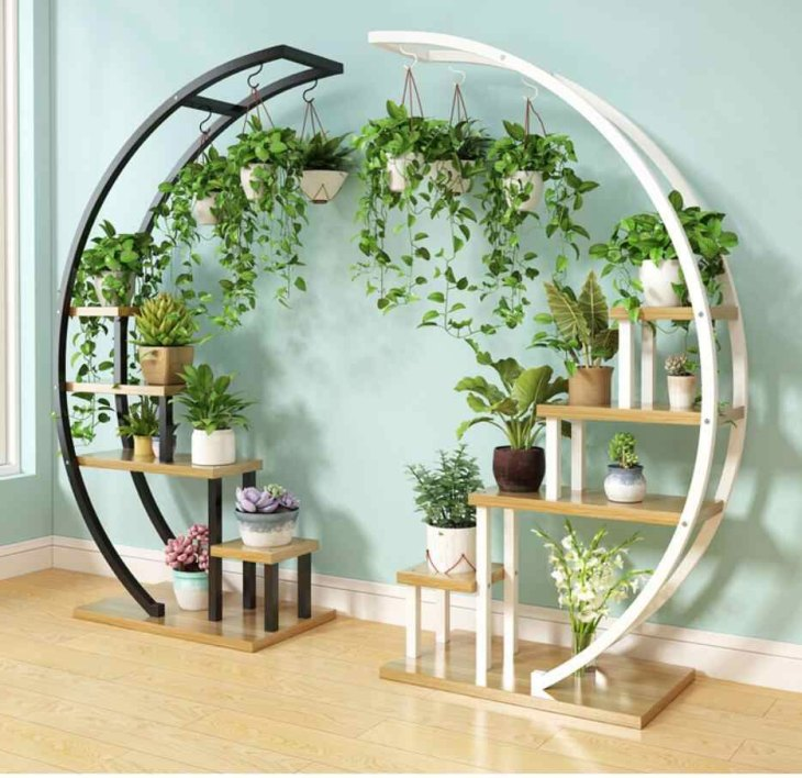 2 Piece Flower Storage Shelf