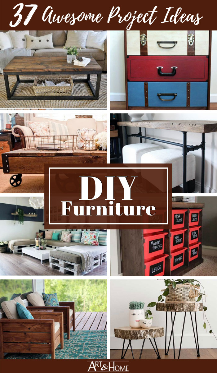 47 Awesome DIY Furniture Project Ideas