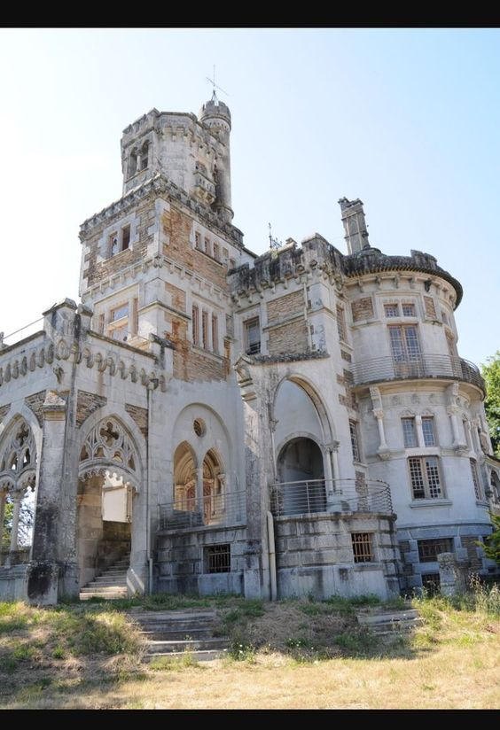 Abandoned Castle in Portugal