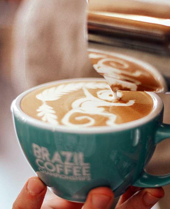 Brazillian Monkey Latte Art