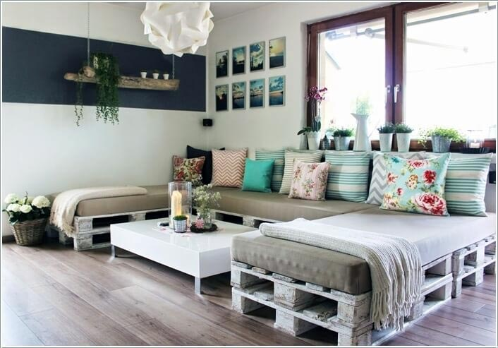DIY Pallet Sectional