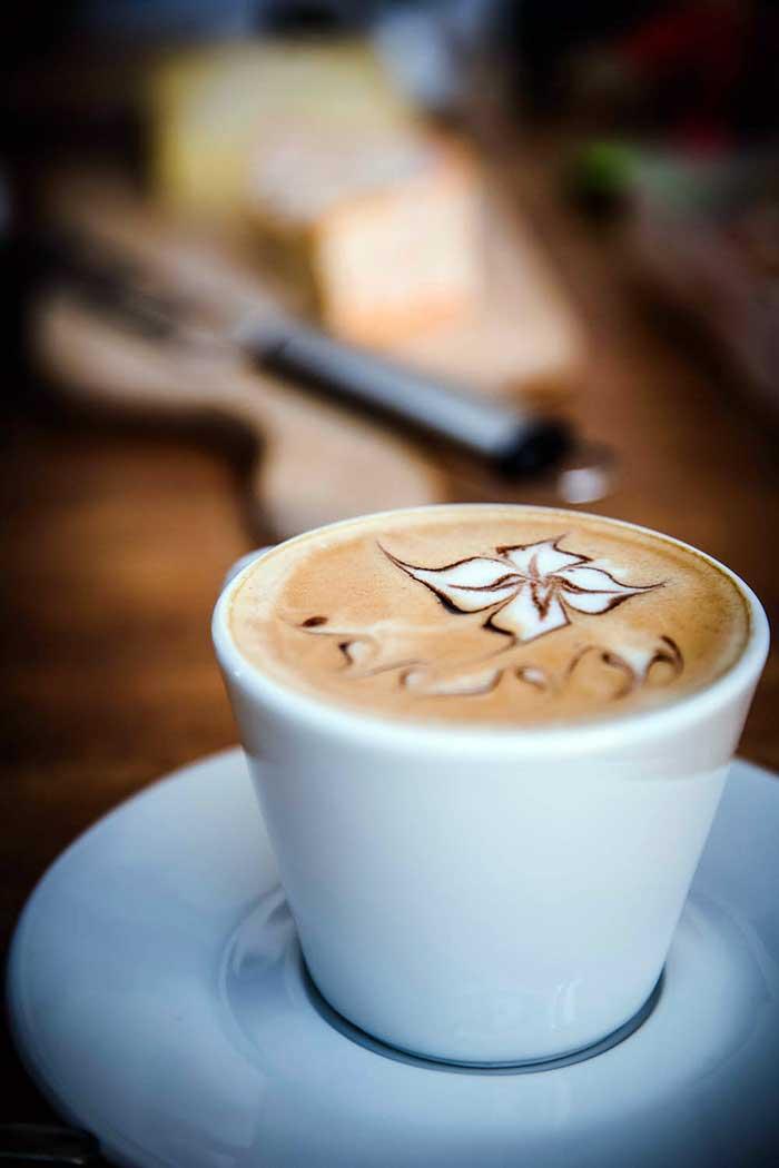 Delicate Flower Latte Art