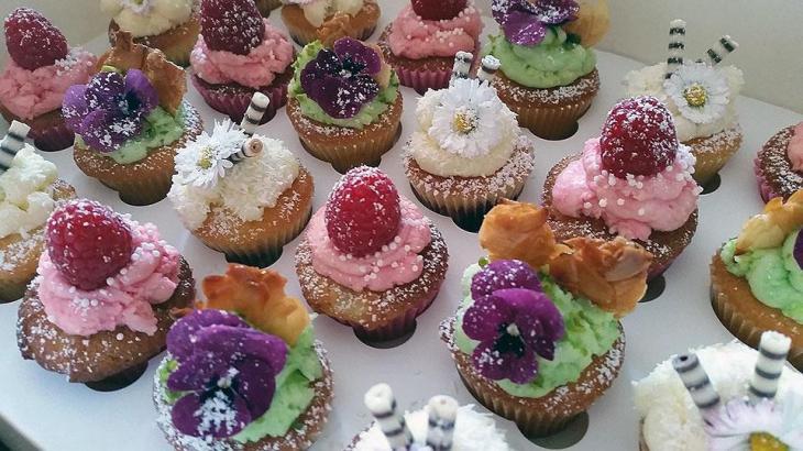 Floral Garden Party Cupcakes
