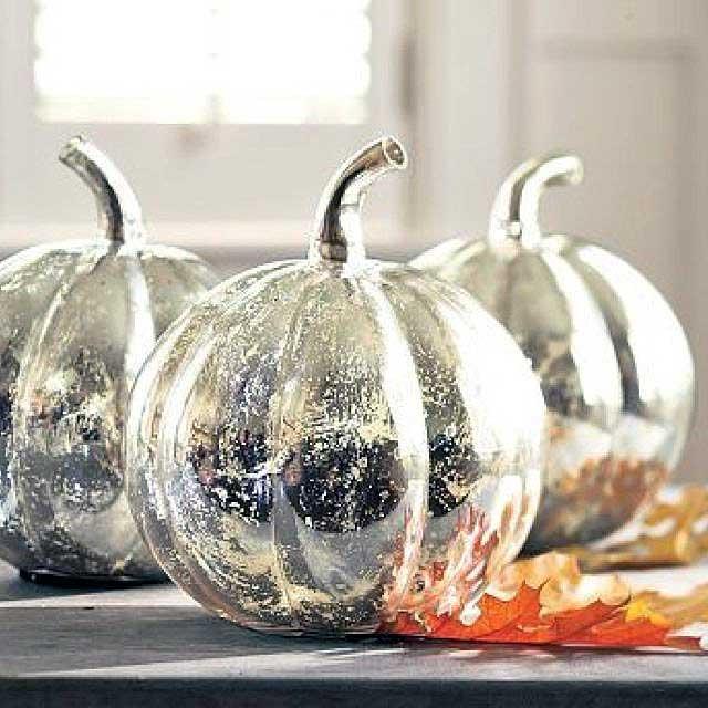 Glammed Up Dollar Store Pumpkins