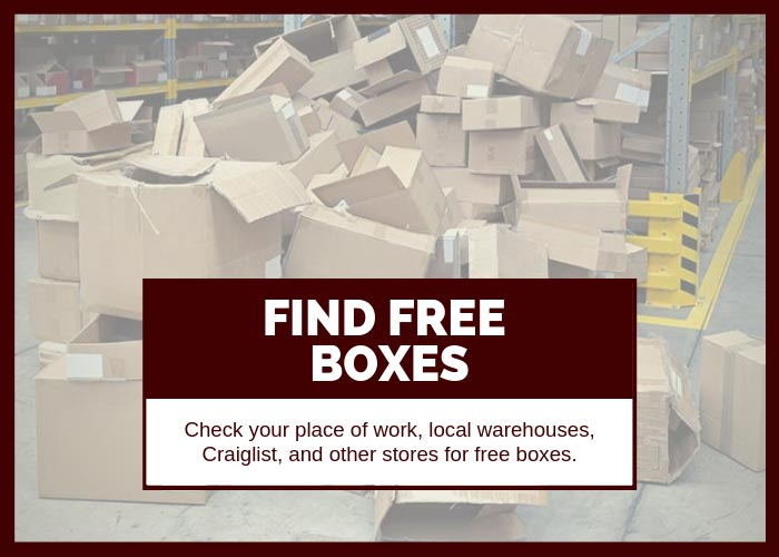 Moving Hack 7 Find Free Boxes