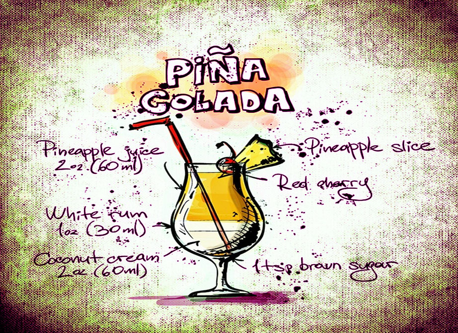 Pina Colada Summer BBQ Cocktail