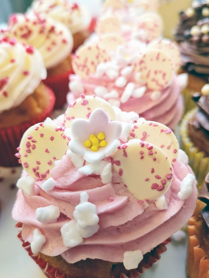 Pretty Pink Cupcakes