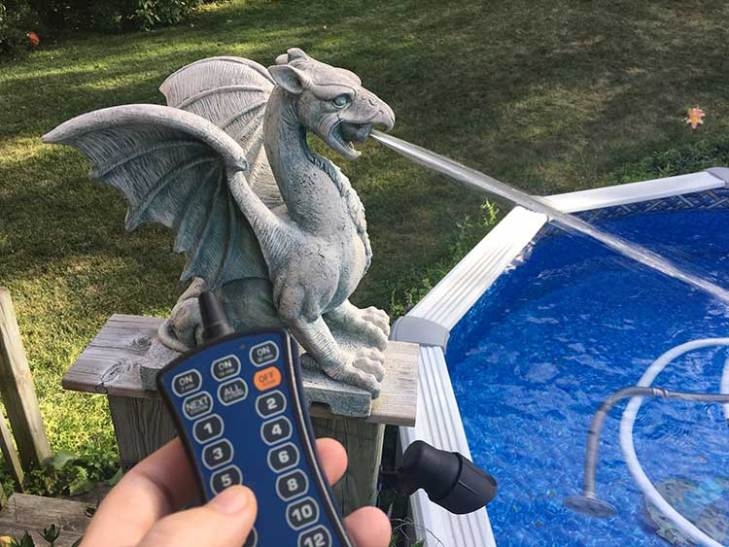 Remote Control Dragon Pool Spitters