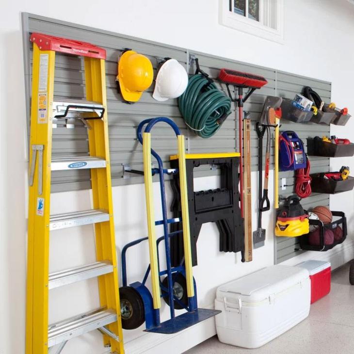 Slatwall Garage Storage Systems