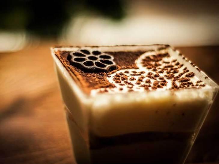 Square Latte Art
