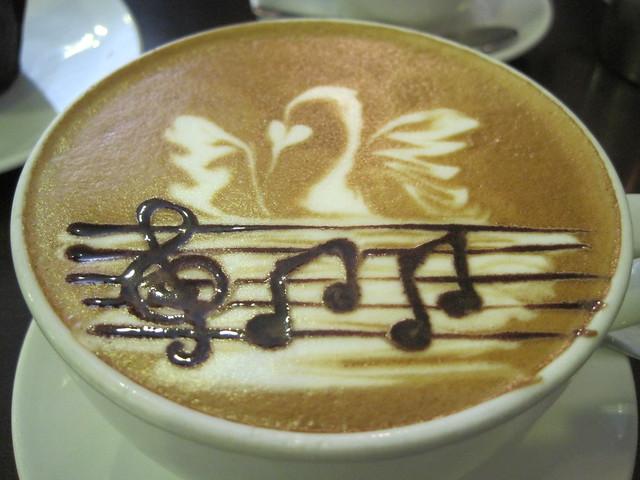 Swan Song Latte Art