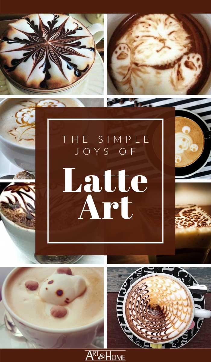 Unique and Beautiful Latte Art