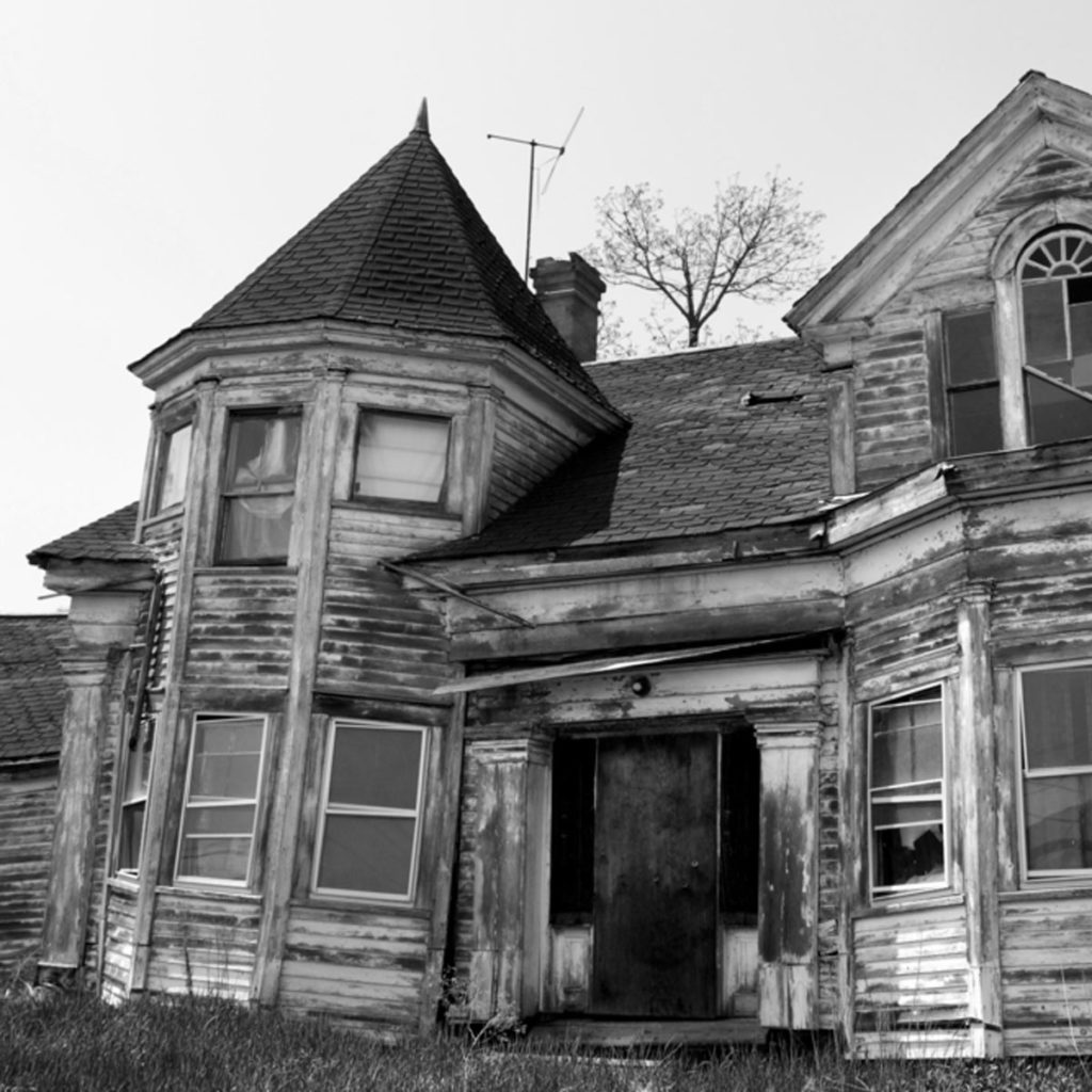 Abandoned Queen Anne Style Home