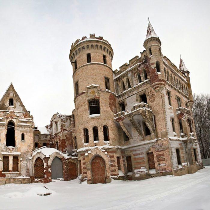 Abandoned Russian Castle