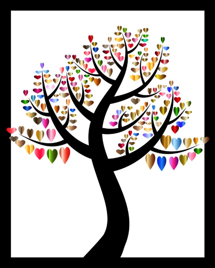 Fall Love Tree Free Fall Printable